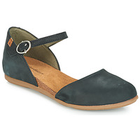 Shoes Women Ballerinas El Naturalista STELLA Black