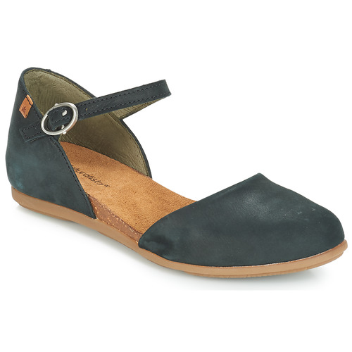 Shoes Women Ballerinas El Naturalista STELLA Black