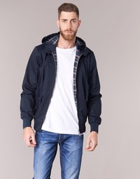 material Men Blouses Harrington HARRINGTON HOODED Marine