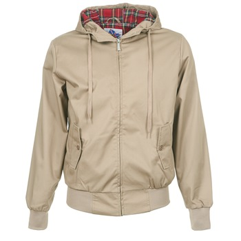 material Men Blouses Harrington HARRINGTON HOODED Beige