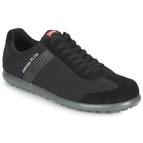 Shoes Men Low top trainers Camper PELOTAS XL Black