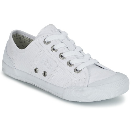 Shoes Women Low top trainers TBS OPIACE White