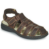 Shoes Men Sandals TBS BARROW Brown