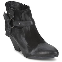 Shoes Women Low boots Strategia SANGLA Black / Silver