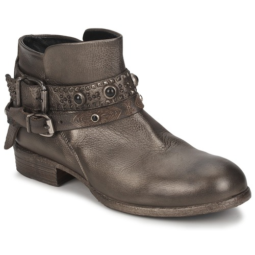 Shoes Women Mid boots Strategia YIHAA Silver