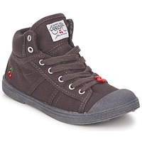 Shoes Children High top trainers Le Temps des Cerises BASIC-03 KIDS Brown