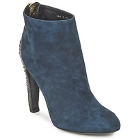 Shoes Women Low boots Bikkembergs HEDY 808 BLUE /  BLACK