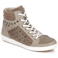 Shoes Women High top trainers Yurban ALTOUVE Taupe
