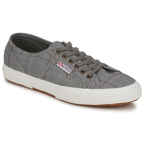 Shoes Men Low top trainers Superga 2750 GALLESU Grey / White