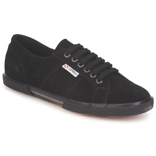 Shoes Low top trainers Superga 2950 Black
