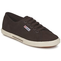 Shoes Women Low top trainers Superga 2950 Chocolate