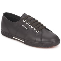 Shoes Low top trainers Superga 2950 Chocolate