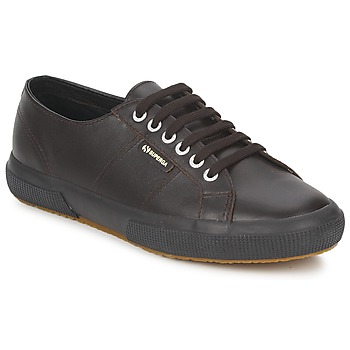 Shoes Low top trainers Superga 2750 Chocolate