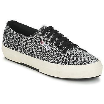 Shoes Women Low top trainers Superga 2750 FANTASY Black / White