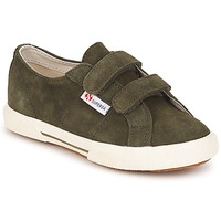 Shoes Children Low top trainers Superga 2950 Army