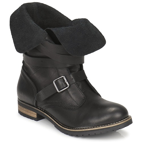 Shoes Women Mid boots Casual Attitude GRAVINE Black