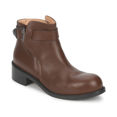 Shoes Women Mid boots Kallisté 5723 Brown