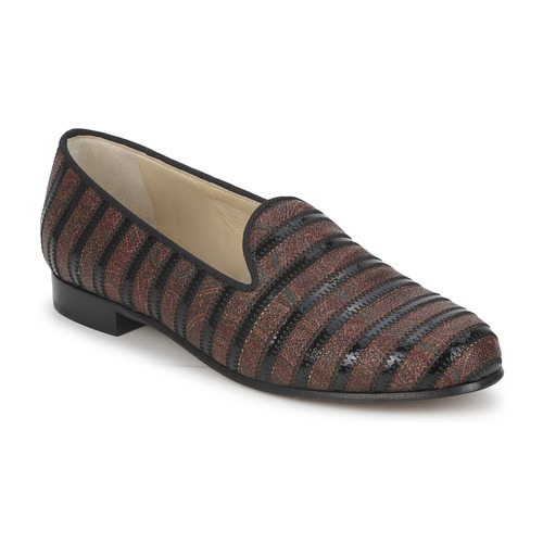 Shoes Women Loafers Etro FLORINDA Brown / Black