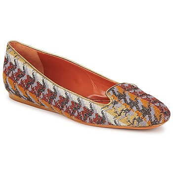 Shoes Women Loafers Missoni WM004 Multicoloured
