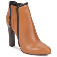 Shoes Women Ankle boots Roberto Cavalli WDS228 Cognac