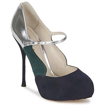 Shoes Women Court shoes John Galliano AO2179 Black / Grey