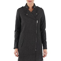 material Women coats Yas MIND WOOL BICKER JACKET Grey