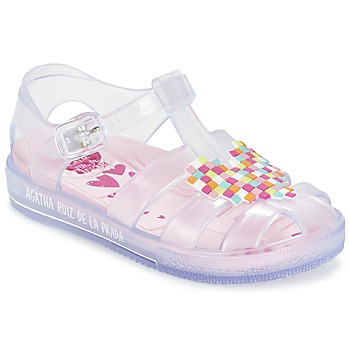 Shoes Girl Sandals Agatha Ruiz de la Prada BASILA White