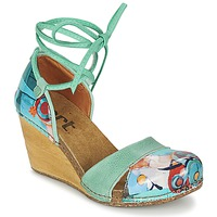 Shoes Women Sandals Art VALBY 499 Green