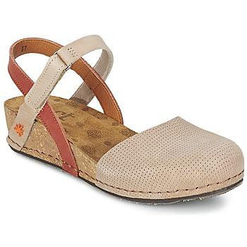 Shoes Women Sandals Art POMPEI 739 Beige