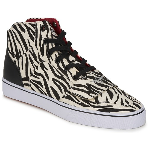 Shoes Women High top trainers Creative Recreation W CESARIO XVI M Zebra