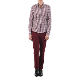 material Women chinos Gant C. COIN POCKET CHINO Bordeaux