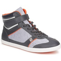 Shoes Women High top trainers Dorotennis MONTANTE LACETS VELCRO Anthracite