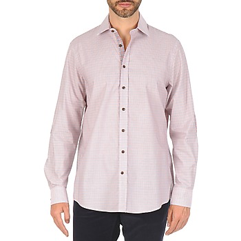 material Men long-sleeved shirts Hackett MULTI MINI GRID CHECK Multicolour