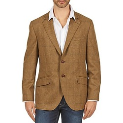 material Men Jackets / Blazers Hackett TWEED WPANE Brown