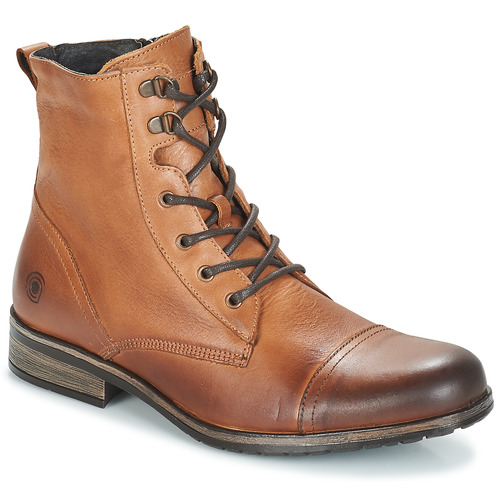 Shoes Men Mid boots Casual Attitude RIBELLE Camel
