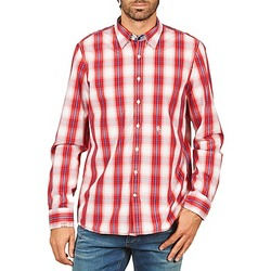material Men long-sleeved shirts Gaastra ECHO SOUNDING Red