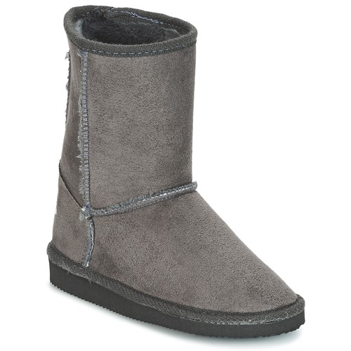 Shoes Children Boots Citrouille et Compagnie ZOONO Grey