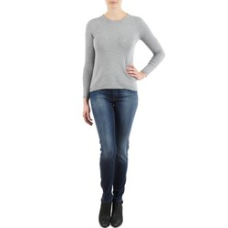 material Women slim jeans 7 for all Mankind THE SKINNY NEW ORL FLAME Blue
