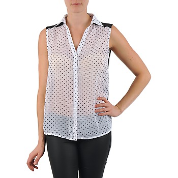 material Women Shirts La City O DEB POIS White