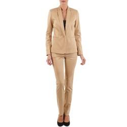material Women 5-pocket trousers La City PBASIC BEIGE