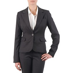material Women Jackets / Blazers La City VTANIA Grey