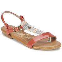 Shoes Women Sandals Le Temps des Cerises CARLY CORAIL Coral