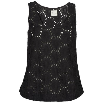 material Women Tops / Sleeveless T-shirts Stella Forest ADE007 Black