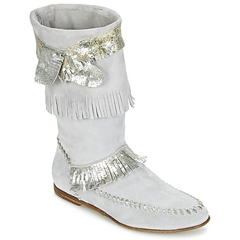 Shoes Women Boots Now MATELI Grey / Silver