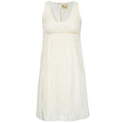 material Women Short Dresses Stella Forest ARO015 Ecru