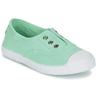 Shoes Girl Low top trainers Chipie JOSEPE Green / Opal