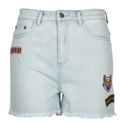 material Women Shorts / Bermudas American Retro BORIS Blue