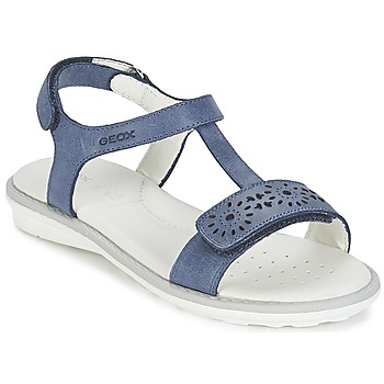 Shoes Girl Sandals Geox SAND.MILK C Marine