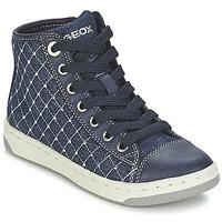 Shoes Girl High top trainers Geox CREAMY B MARINE