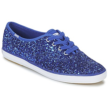 Shoes Women Low top trainers Keds CHAMPION GLITTER Blue
